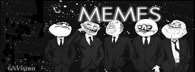 Capa para Facebook Memes de preto