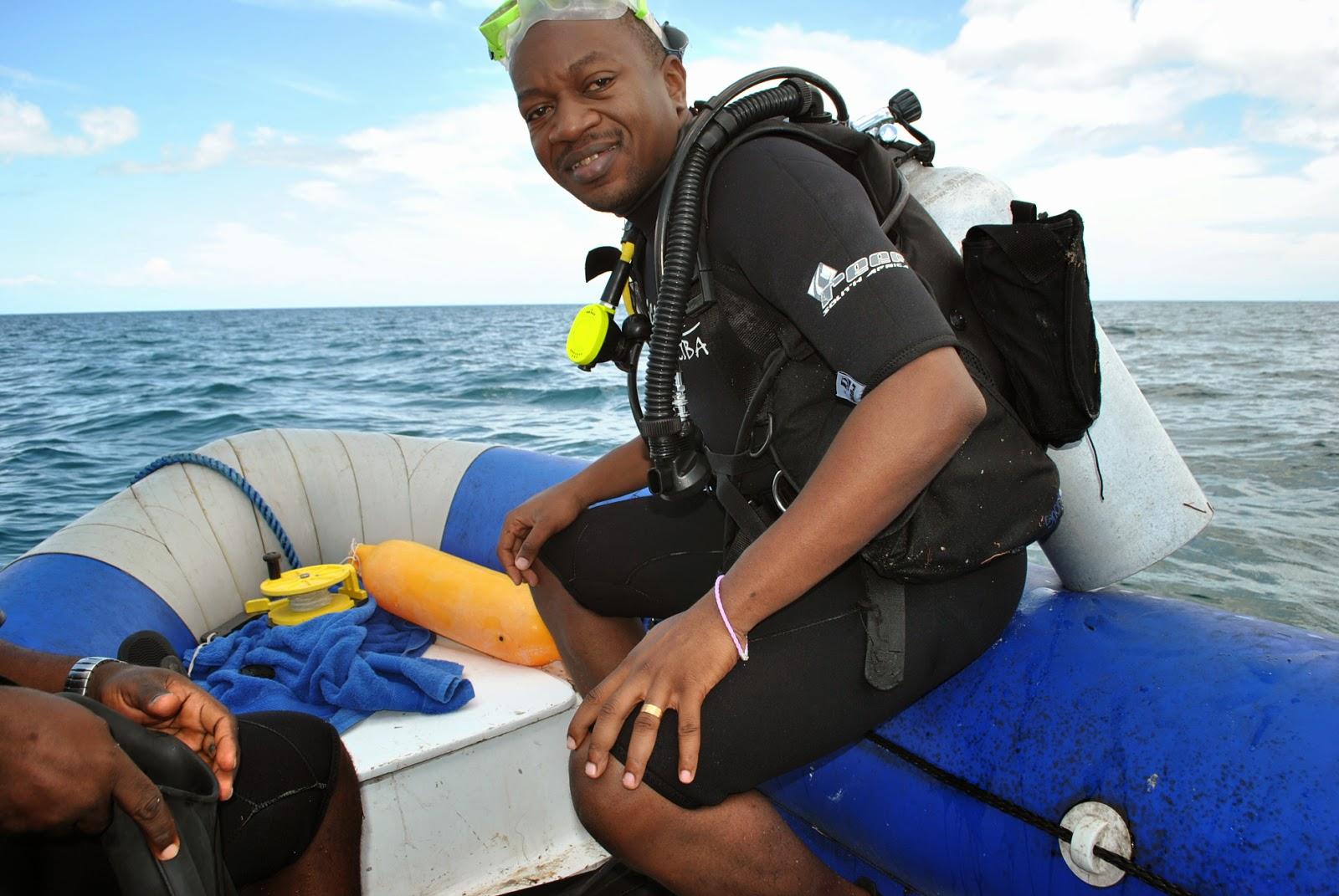 Diving, Nungwi -Zanzibar