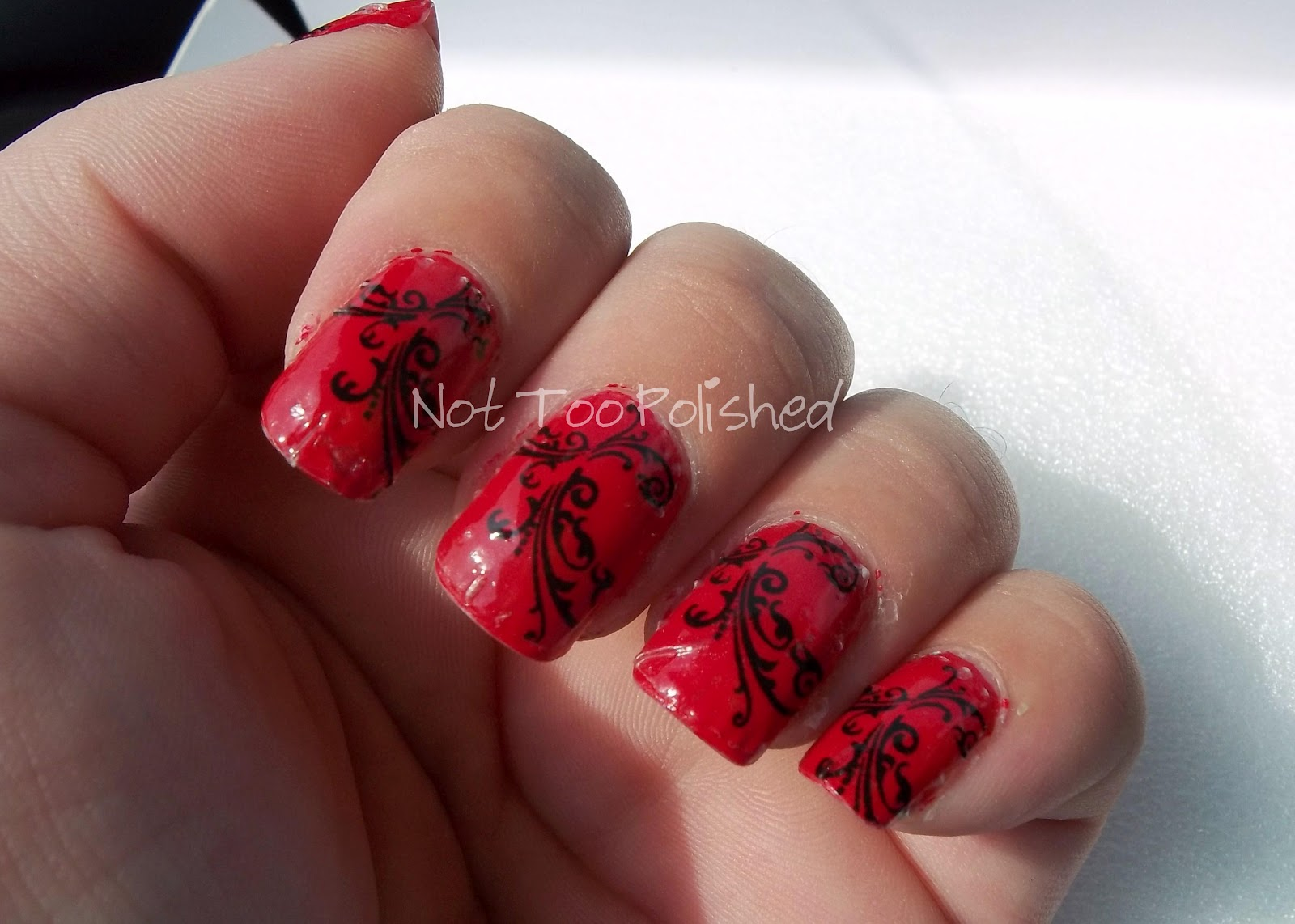 Not too polished easiest nail art ever decals by long changed i dont even do so well with those french tip sticker guides so when i come across pretty full nail decals that take all the guess work out of nail art solutioingenieria Image collections