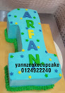 Numbering Cake (fondant/buttercream)