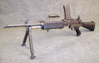 Stoner 63 light machine gun LMG