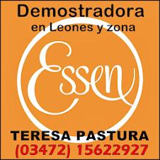 TERESA PASTURA DEMOSTRADORA ESSEN