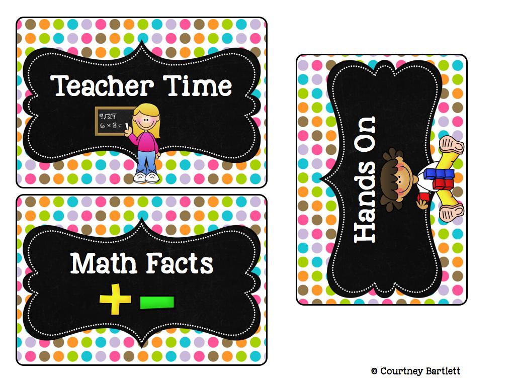 http://www.teacherspayteachers.com/Product/Math-Rotations-board-1270228
