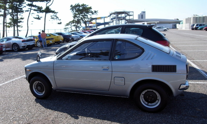 Suzuki Fronte Coupe LC10W, małe samochody, japońskie auta, motoryzacja, クラシックカー、軽自動車、日本車