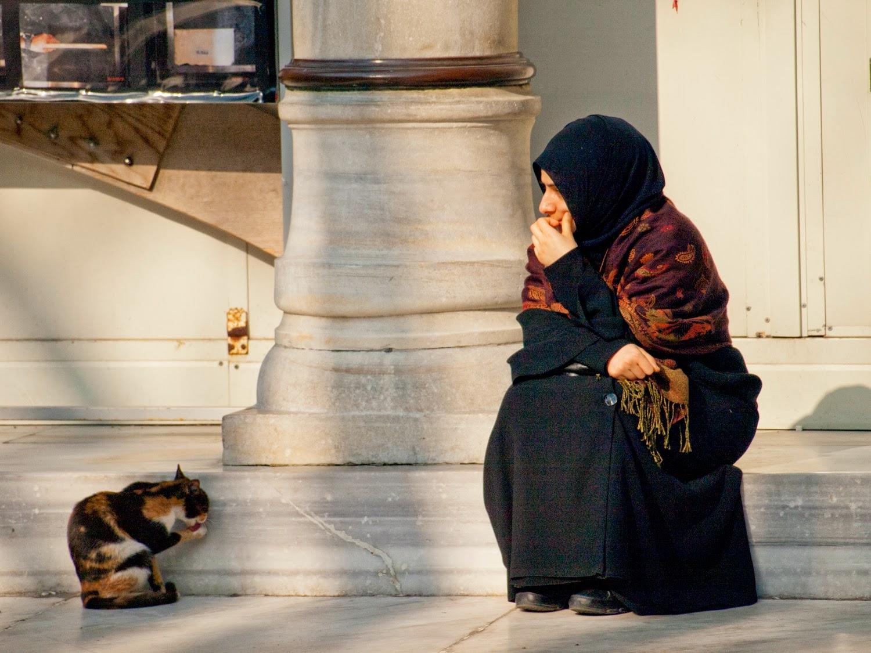 Mujer en Eyüp