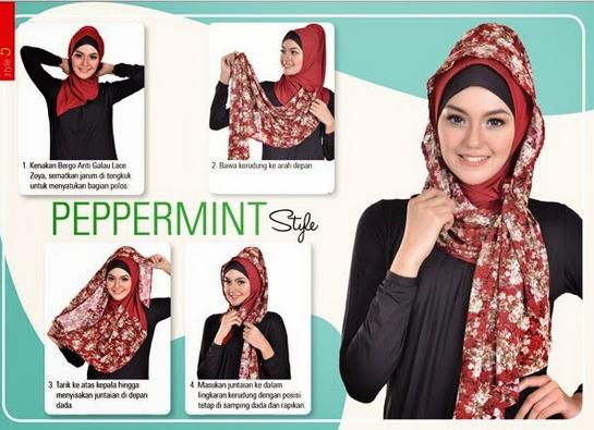 Cara Berkerudung Hijab Tutorial Hijab Cara Berjilbab Model Kerudung  Hot Girls Wallpaper