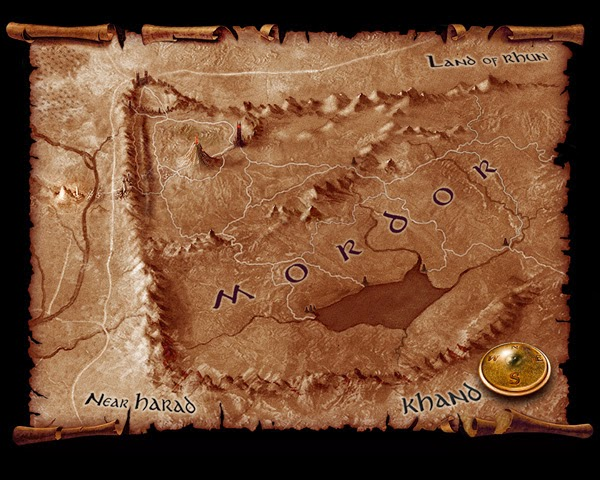 Shadow of Mordor Map