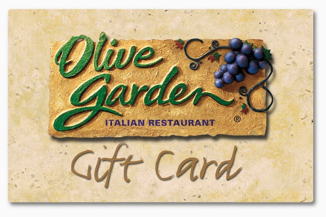 Sasaki Time Giveaway Olive Garden 50 Gift Card