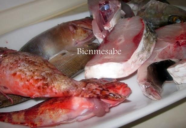 pescado del caldero