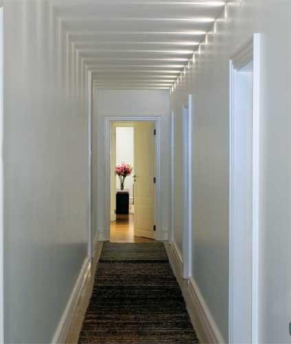 A urban stica decorando o corredor for Idea de pintura de corredor
