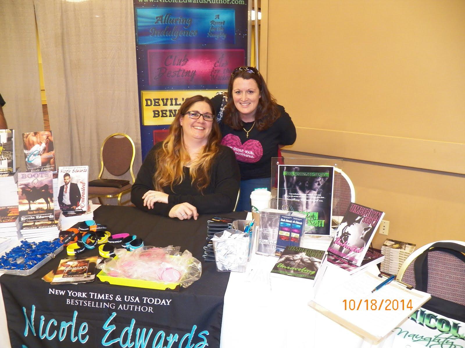 NY Signing Nicole Edwards