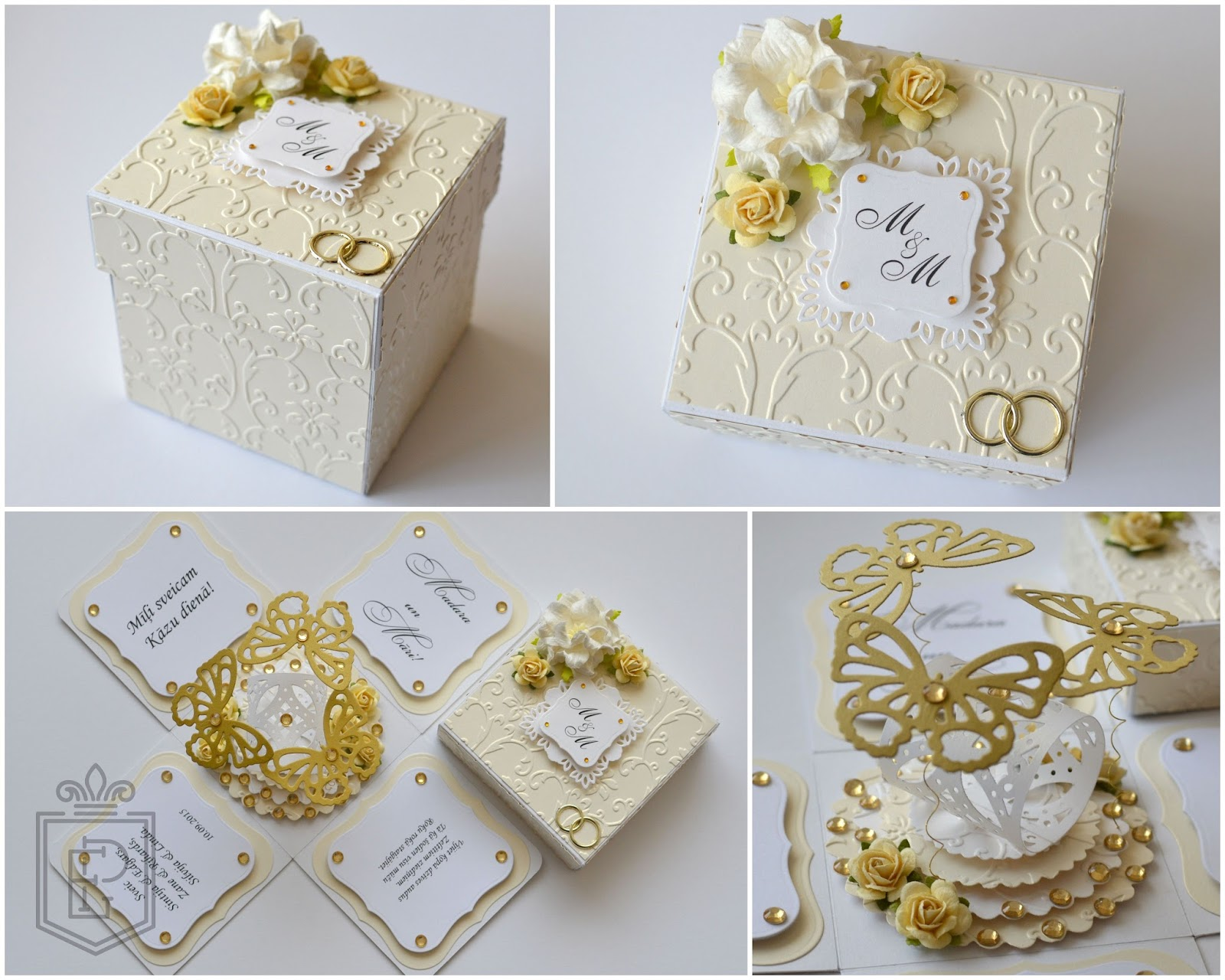 Мастер класс по коробкам на свадьбу