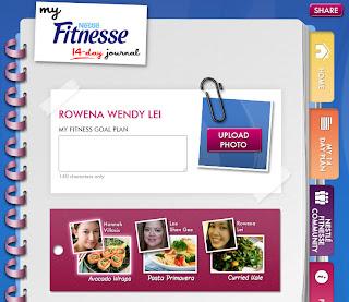 Nestle Fitnesse Facebook App