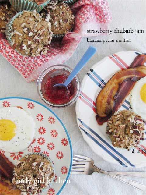http://www.curlygirlkitchen.com/2013/06/strawberry-rhubarb-jam-and-banana-pecan.html