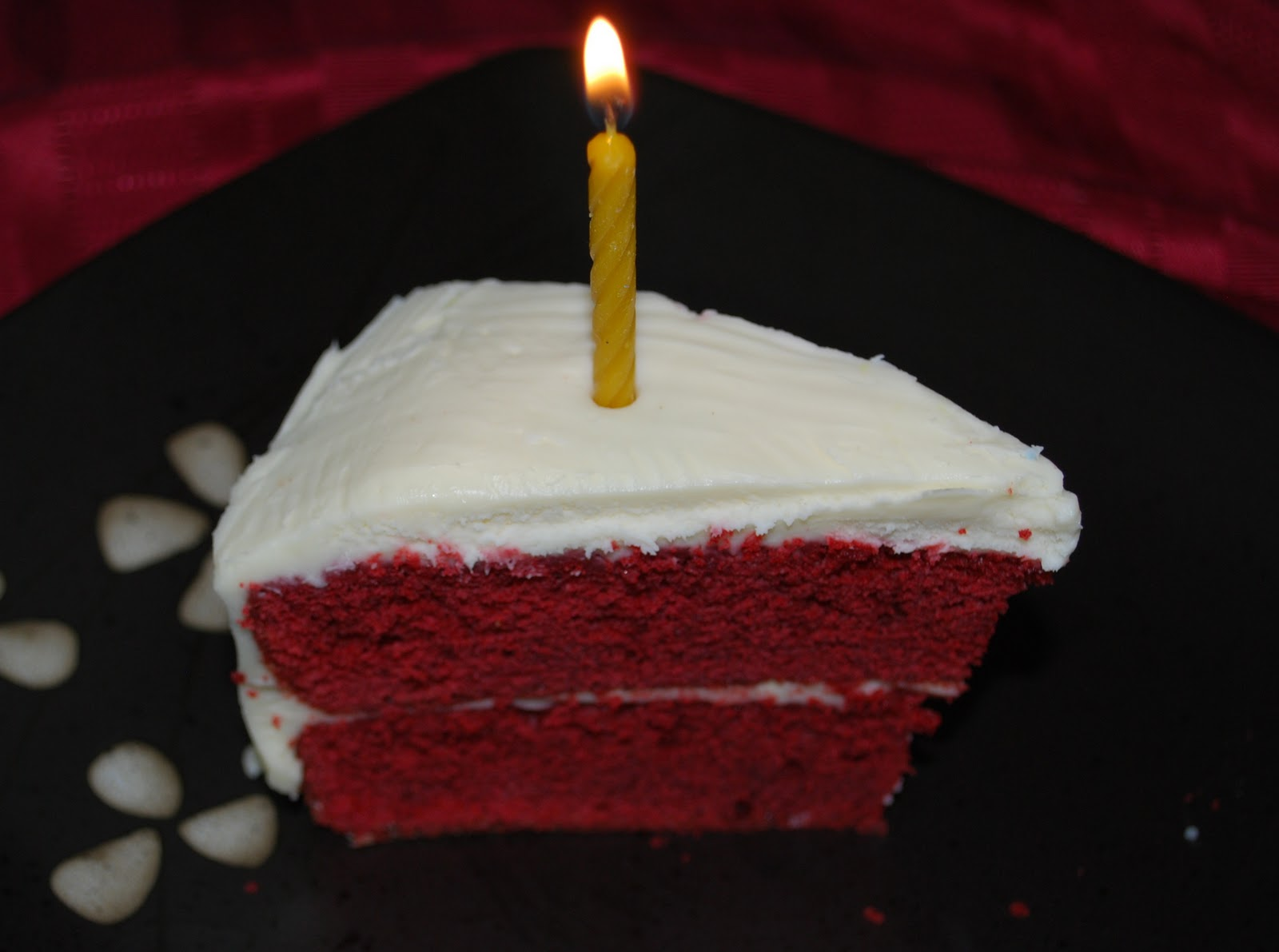Red Velvet Cake With Cream Cheese Frosting Carries Experimental