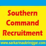 Southern Command Recruitment