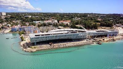 Inauguration du mémorial Act en Guadeloupe