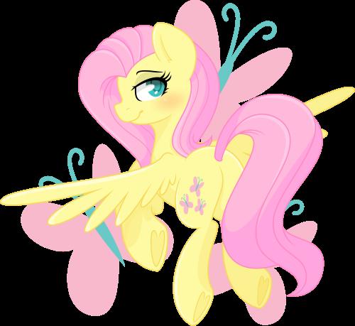 Cute Fluttershy is cute