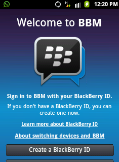Install BBM di Android Gingerbread Processor ARMv6