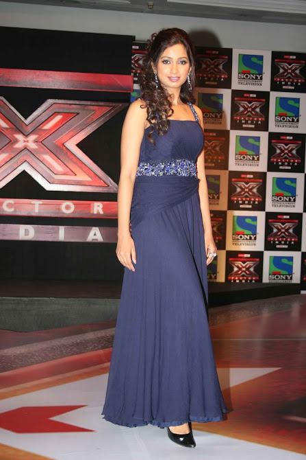 Shreya Ghoshal X Factor Launch Party Stills - Celeb Reality Show Picture - Famous Celebrity Picture