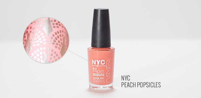 NYC Peach Posicles