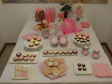 Candy Buffet in Rose