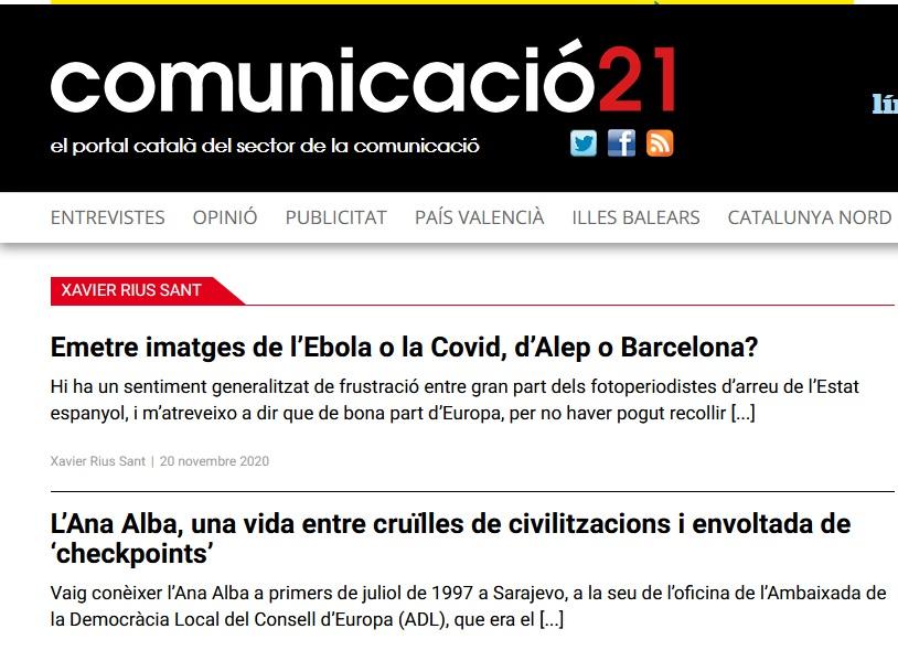 Articles a Comunicació21