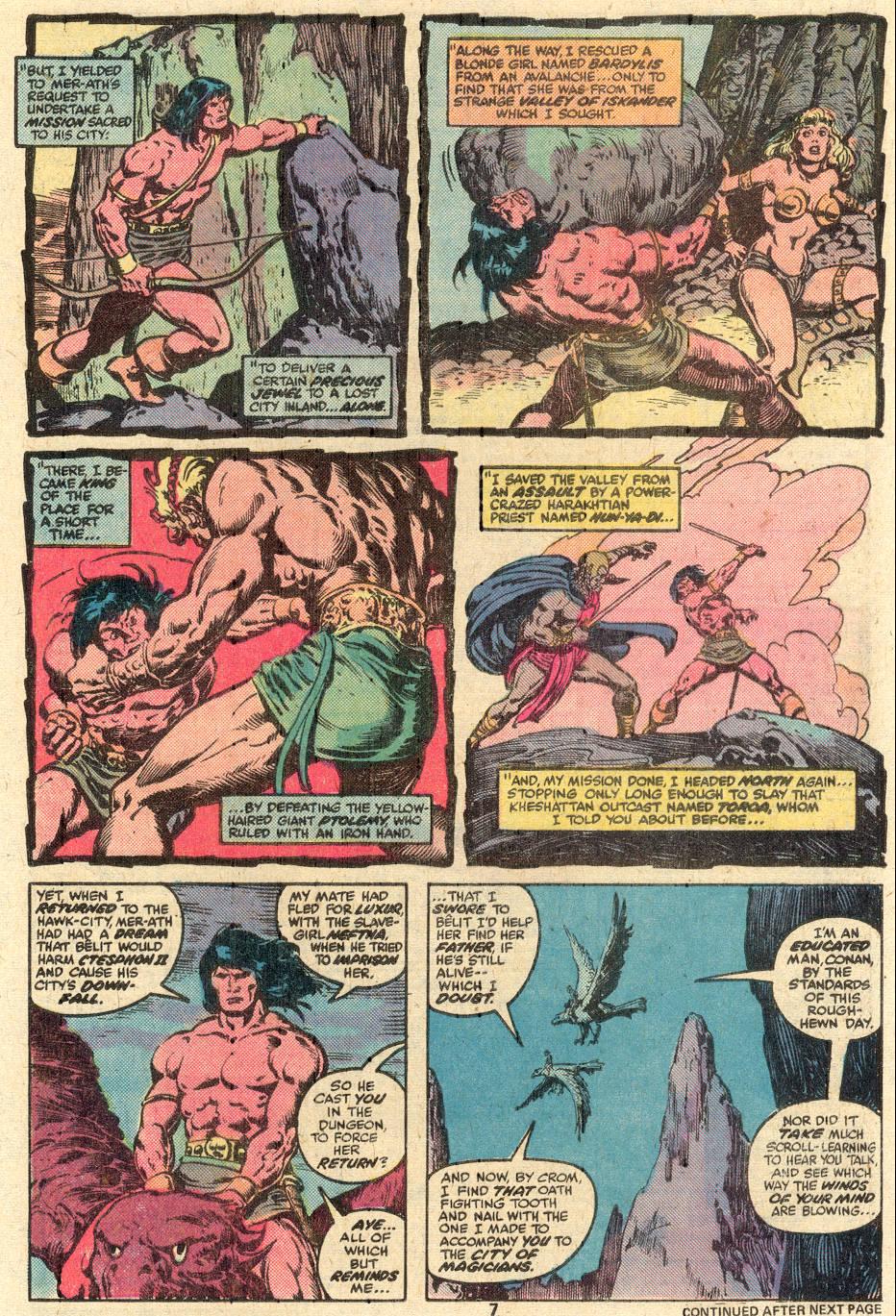 Conan the Barbarian (1970) Issue #85 #97 - English 6