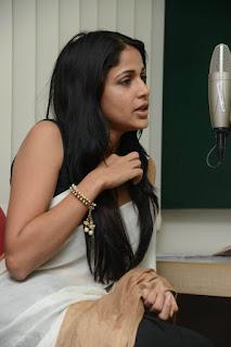 Actress Lavanya Tripathi Pictures in Saree at Radio Mirchi  25286).jpg