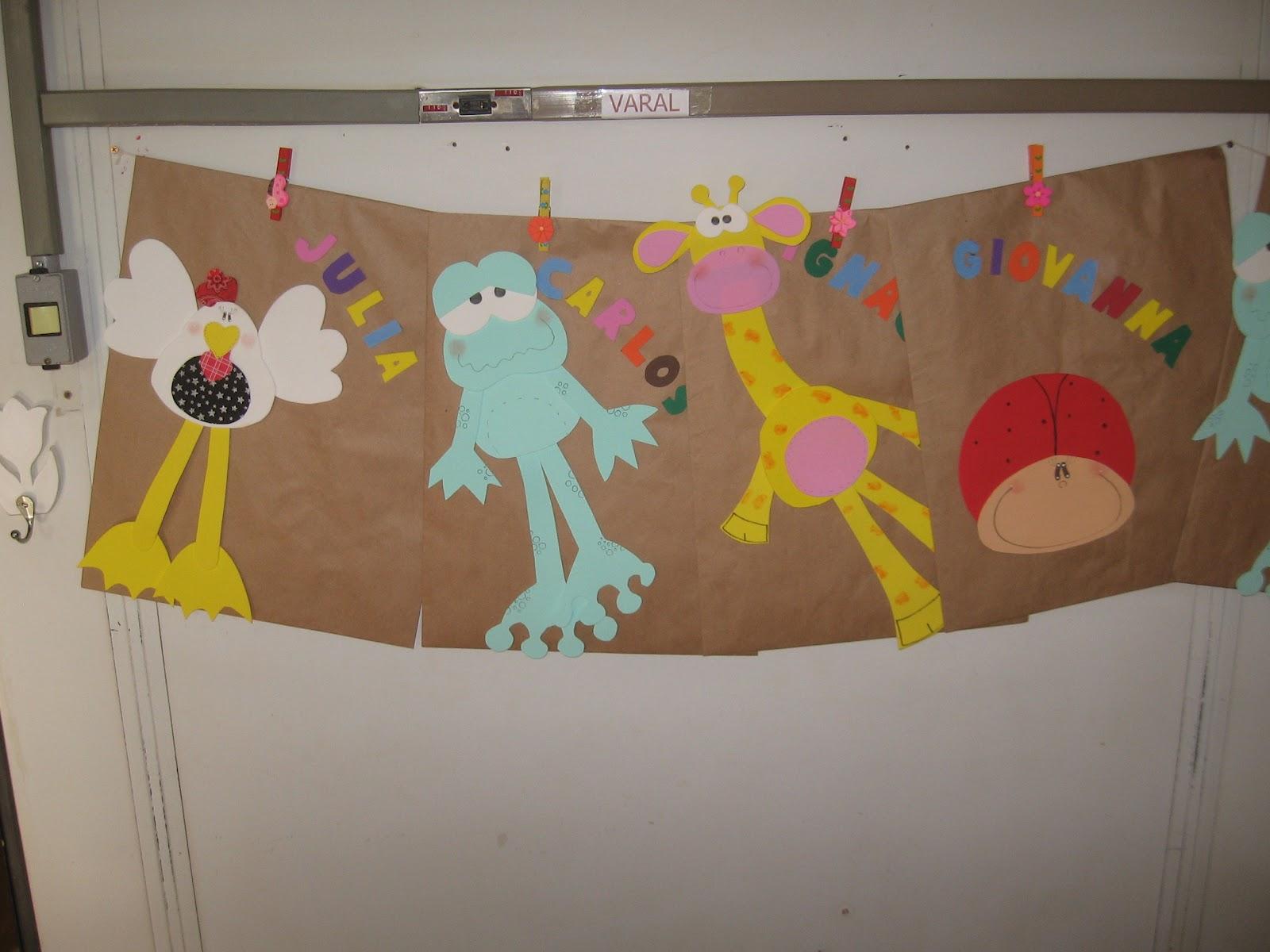 #B29719 Bichinhos para decorar a porta da sala de aula. 1600x1200 px Projeto Cozinha Na Educação Infantil_4295 Imagens