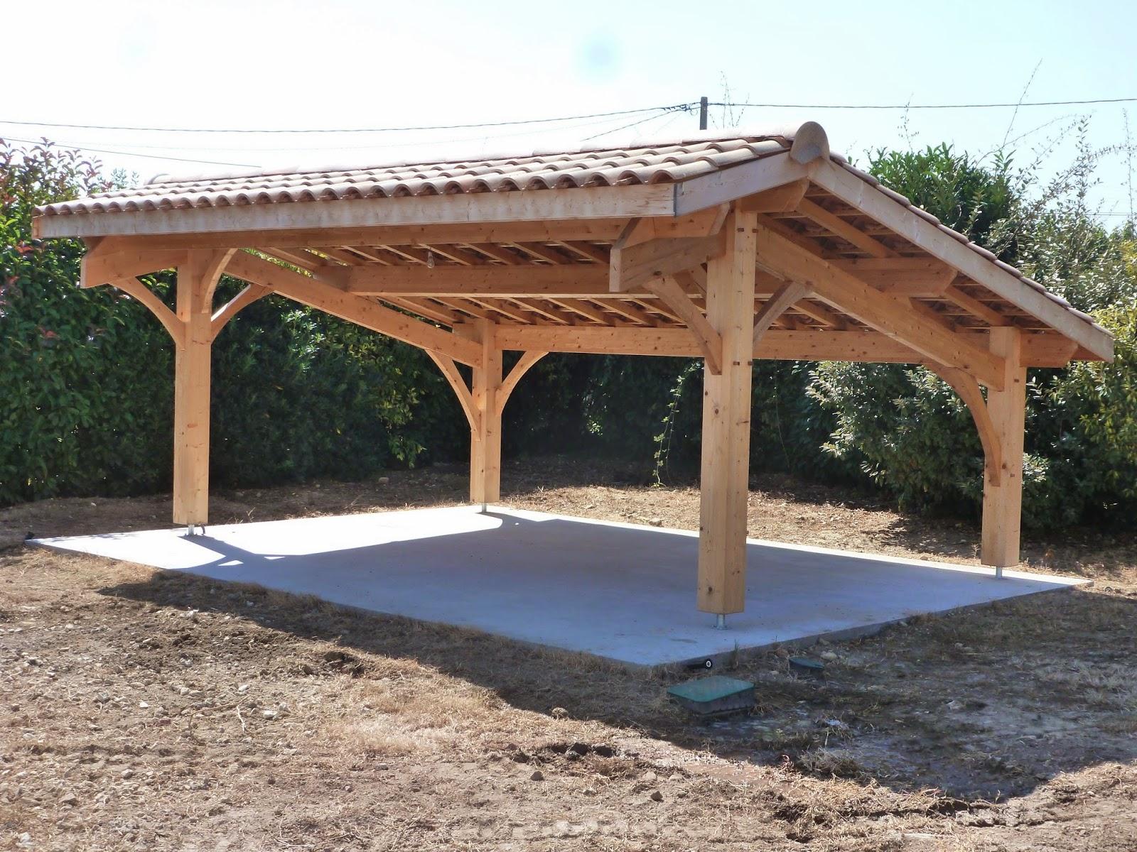 Préférence Abris de jardin bois / Carport voitures bois / Garage Bois  HN22