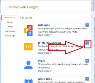 klik tombol html/javascrip