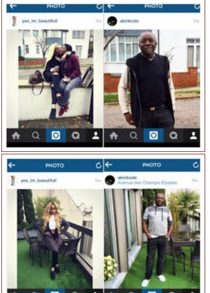 Abuja Big Boy Reportedly Takes Ice Prince's Girlfriend Maima Nkewa To London For Lashing (Shocking Photos)