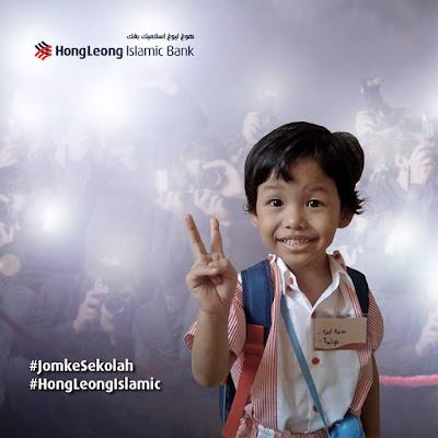 Peraduan #JomkeSekolah Bersama Hong Leong Islamic Bank