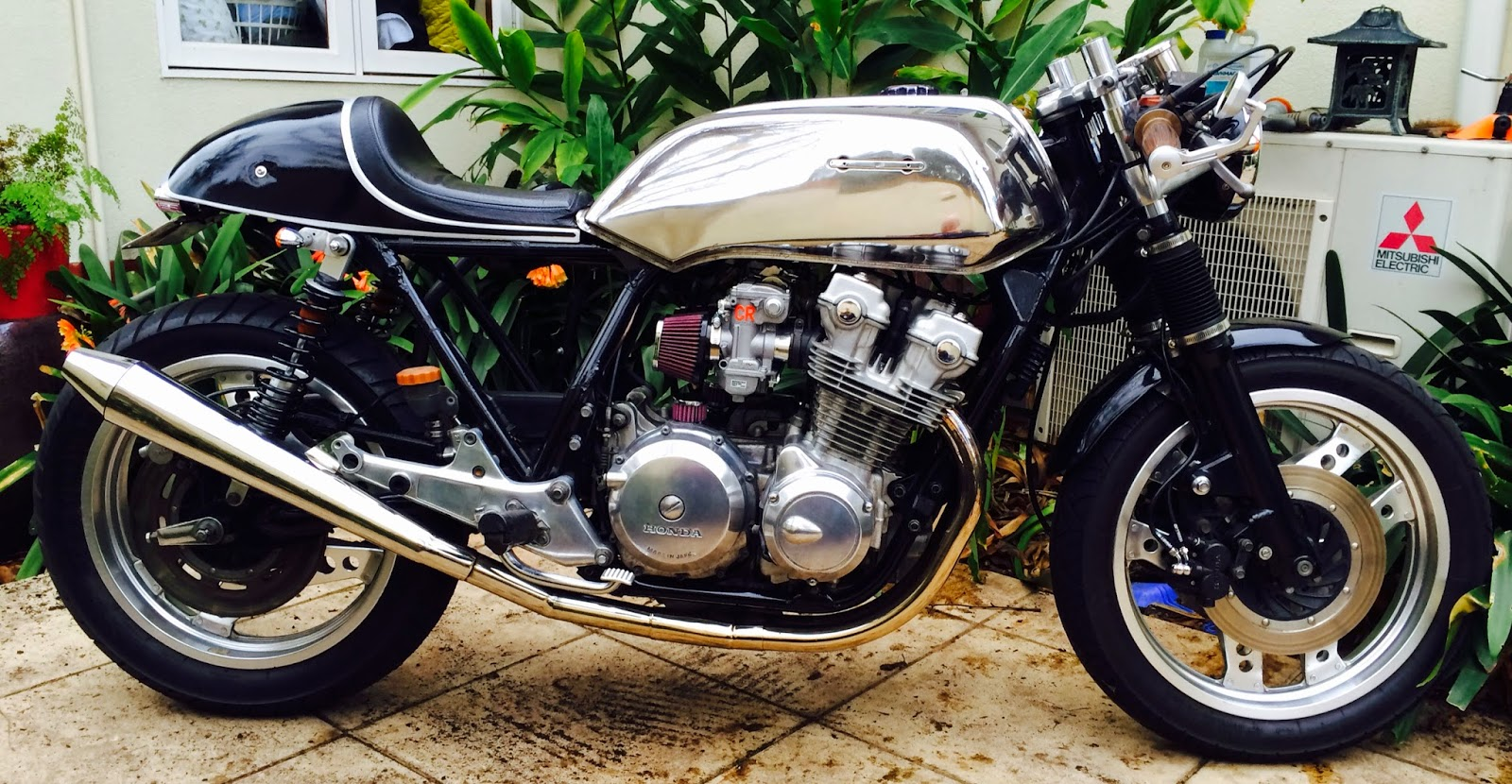1981 Cb750f Metamorphosis Cafe Racer The Above Picture Shows Honda Cb100 Pictorial Diagram It Cheers