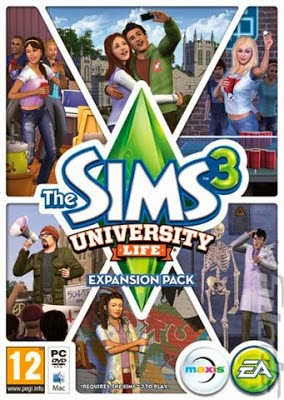 The Sim 3 University Game PS3