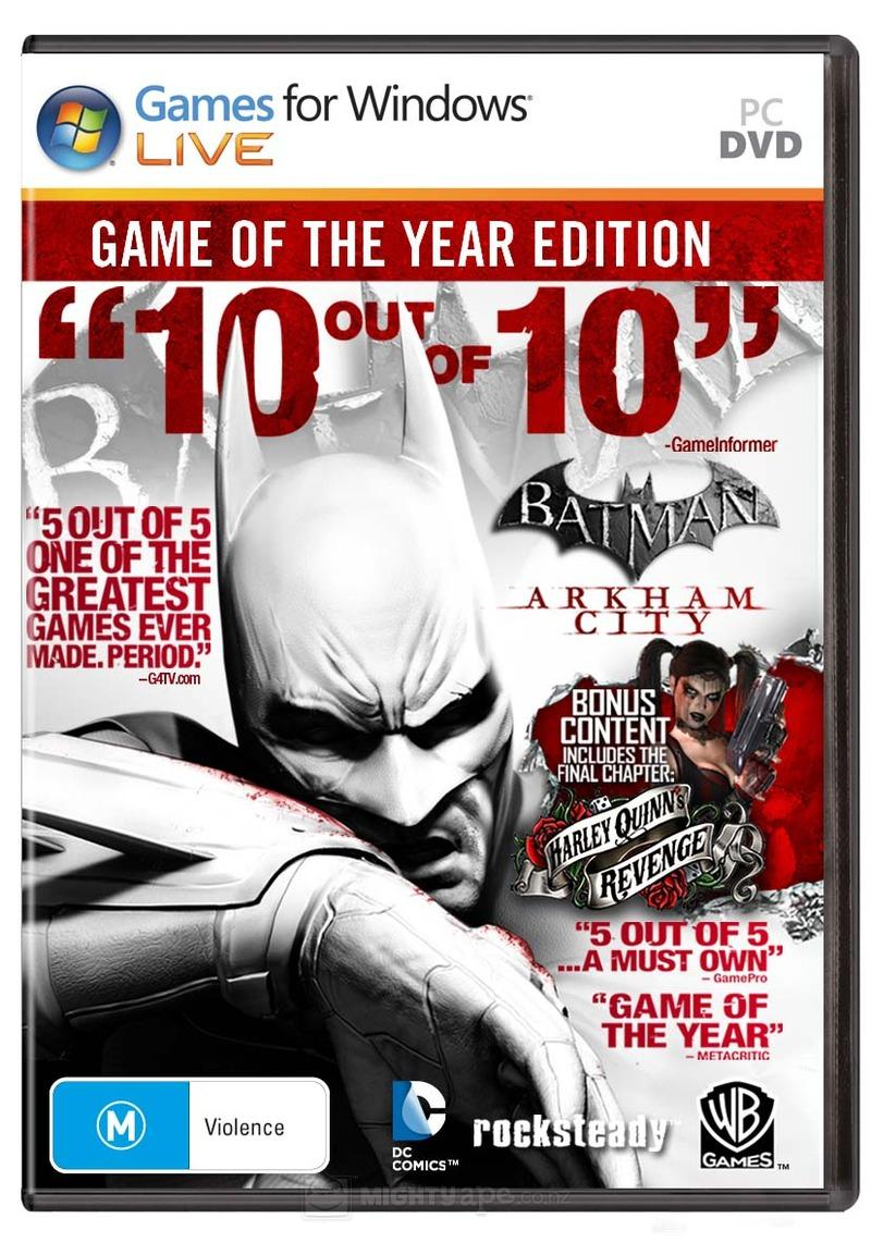 batman arkham city game of the year edition skidrow download