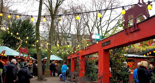 Stadtgarten Christmas Market, Cologne