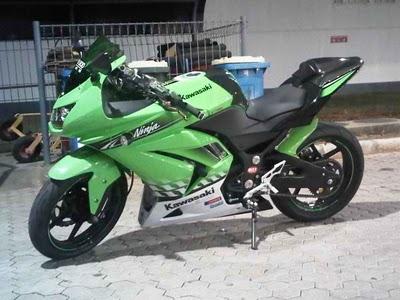 bagaimana Bro/Sis tentang Gambar modifikasi motor kawasaki ninja  title=