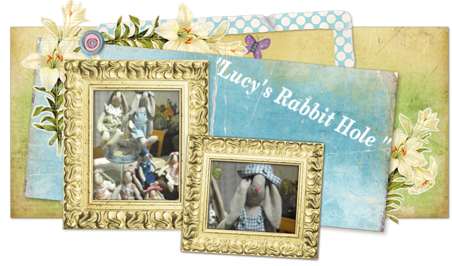 "Il nostro blog creativo ""Lucy's Rabbit Hole"""