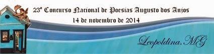 23º Concurso Nacional de Poesias Augusto dos Anjos
