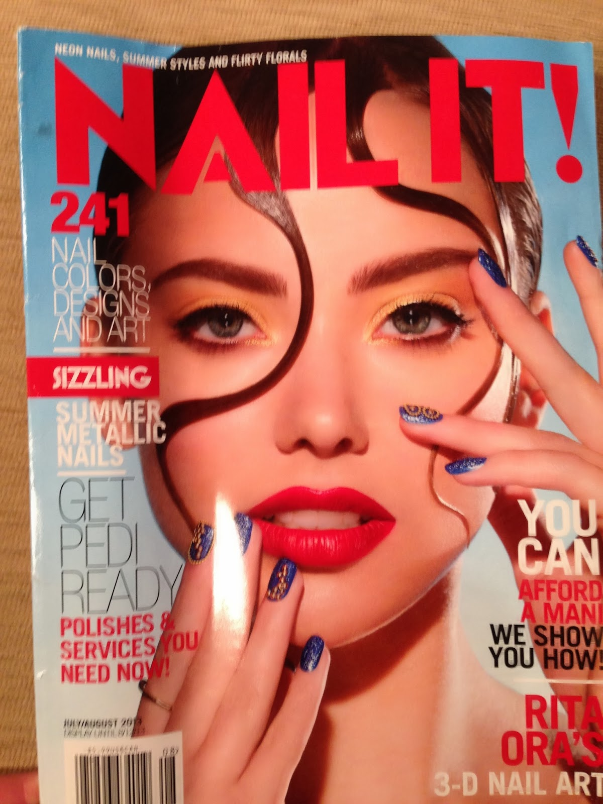 NailsByNumbers: Review: Nail It Magazine