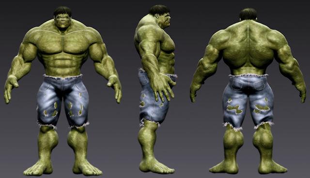 Hulk por Iberry