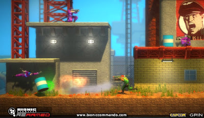 Bionic Commando Rearmed PC Game Free Download