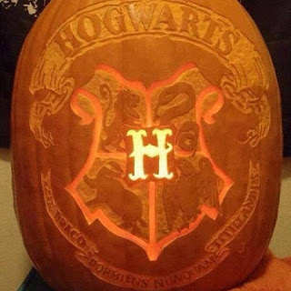 Halloween Pumpkin Ideas - Harry Potter
