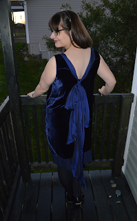 Silk Velvet Dress by Cicely Ingleside
