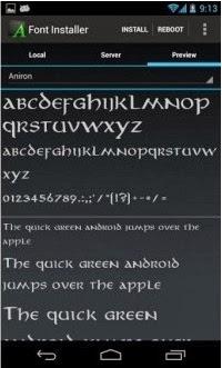 Cara Mengganti / Menambah Font di Smartphone Android