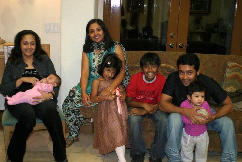 Surya Stunning Star Surya Amp Family Pics