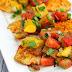 Simple Heirloom Tomato Salsa over White Fish