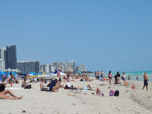 Praia em South Beach, Miami Beach